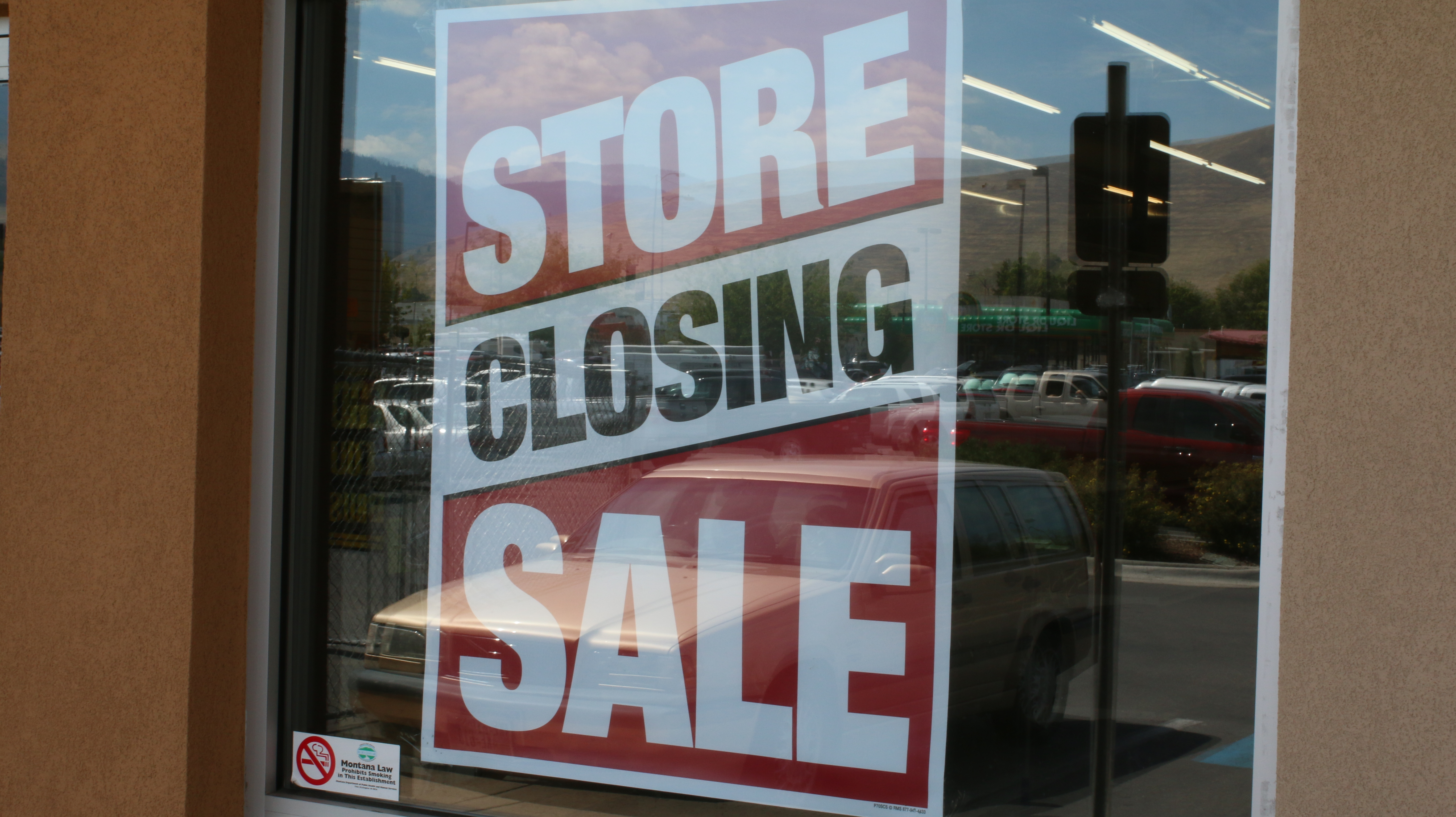 Store Closing Sale Sign